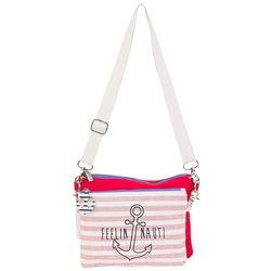 Sun N' Sand 2-pc. Feelin' Nauti Crossbody Handbag