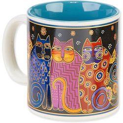 Laurel Burch Feline Family 14 oz. Mugs