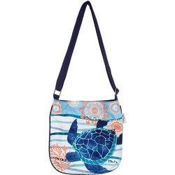 Paul Brent Seaside Turtle Crossbody Handbag