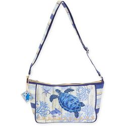 Sun N' Sand Sea Turtle Crossbody Handbag