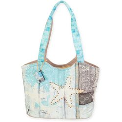Sun N' Sand Starfish Beach Bag Tote
