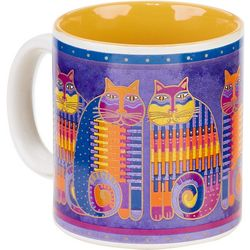 Laurel Burch 14 oz. Rainbow Cats Mug