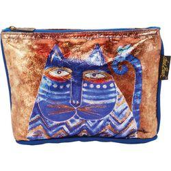 Laurel Burch Azule Foiled Cosmetic Bag