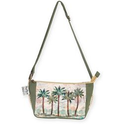 Paul Brent Del Ray Palm Crossbody Handbag