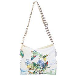 Guy Harvey Treasure Of The Tropics Crossbody Handbag