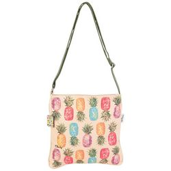 Paul Brent Happy Pineapples Crossbody Handbag