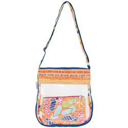 Sun N' Sand Flip Flop Retreat Crossbody Handbag