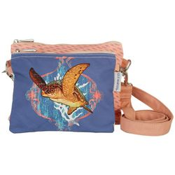 Guy Harvey Ocean Friend 2-pc. Crossbody Handbag