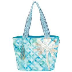 Paul Brent Medium St. Croix Palm Tree Beach Bag Tote