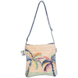 Sun N' Sand Palm Breeze Crossbody Handbag