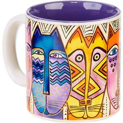 Laurel Burch 14 oz. Tribal Feline Mug