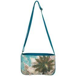 Sun N' Sand Aqua Escape Small Crossbody Handbag