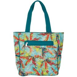 Leoma Lovegrove Palms Away Quilted Tote Handbag