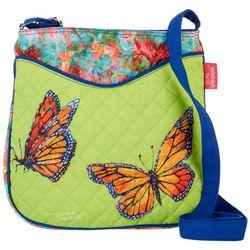 Leoma Lovegrove Butterfly Kisses Quilted Crossbody Handbag