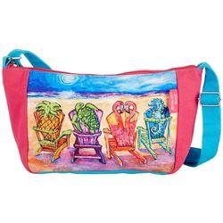 Leoma Lovegrove Front Row Seats Crossbody Handbag