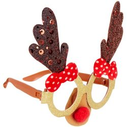 Brighten The Season Rudolph Novelty Glasses