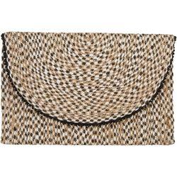 Shiraleah Estrella Fold Woven Clutch Handbag