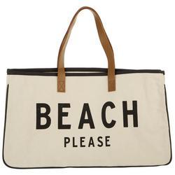 Santa Barbra Design Studio Beach Please Beach Bag Tote
