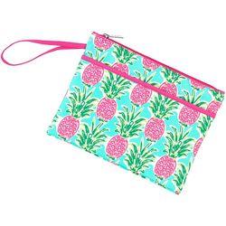 Viv & Lou Sweet Paradise Zipper Pouch Wristlet