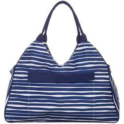 Viv & Lou Tidelines Beach Bag Tote