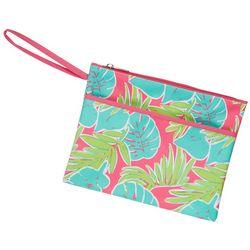 Viv & Lou Totally Tropics Zipper Pouch Wristlet