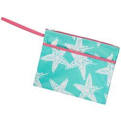 Viv & Lou Sea Star Zipper Pouch Wristlet