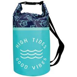 10 L High Tides Good Vibes Dry Bag