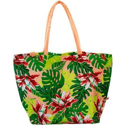 Dennis East Lilly Tropical Canvas Tote