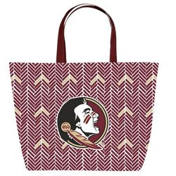 Florida State Game Day Chevron Tote By DESDEN