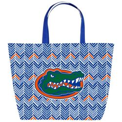 Game Day Chevron Tote By DESDEN