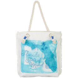 Coral Bay Florida State Of Mind Tote Handbag