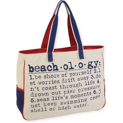 Sun N' Sand Beachology Beach Bag Tote