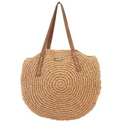 Sun N' Sand Orabel Straw Shoulder Tote Handbag