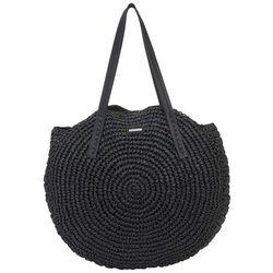 Sun N' Sand Orabel Straw Shoulder Tote Handbag
