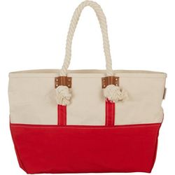 Sun N' Sand Colorblock Beach Bag Tote