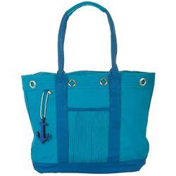 Sun N' Sand Beach Hues Tote Handbag