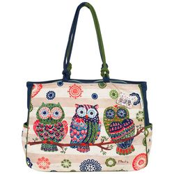 Paul Brent Groovy Owl Beach Bag Tote