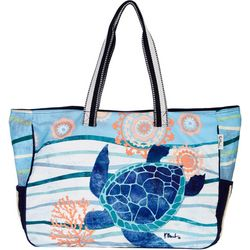 Paul Brent Seaside Turtle Beach Bag Tote