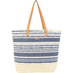 Artistic Stripe Beach Bag Tote