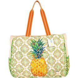 Paul Brent Oversized Pineapple Bag Tote