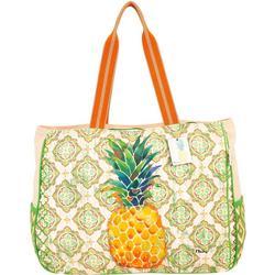 Oversized Pineapple Bag Tote
