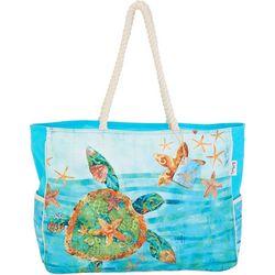 892539de5555 Paul Brent Sea Turtle Large Beach Bag Tote