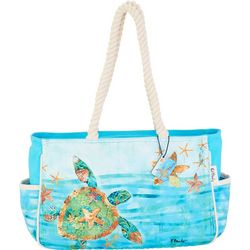 Paul Brent Sea Turtle Beach Bag Tote