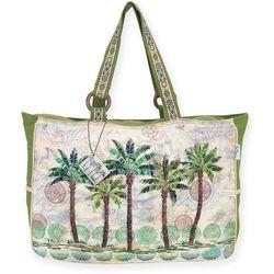 Paul Brent Del Ray Palm Large Beach Bag