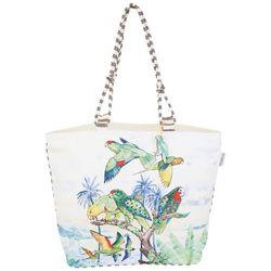 Guy Harvey Treasure Of The Tropics Shoulder Tote Handbag