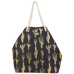 Sun N' Sand Meads Bay Cactus Gap Beach Bag Tote