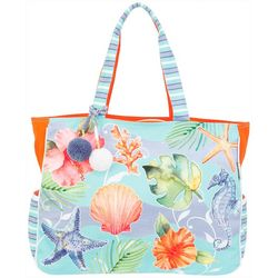 Sun N' Sand Seahorse Jewels Beach Bag Tote