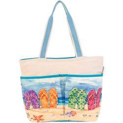 Paul Brent Flip Flop Beach Bag Tote