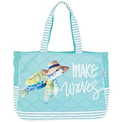 Sun N' Sand Sea Life Friends Oversized Beach Bag Tote