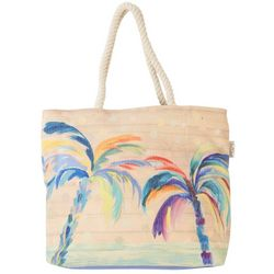 Sun N' Sand Palm Breeze Beach Bag Tote